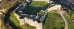Bordeaux Harbour & Vale Castle by Drone